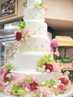 cake boss flower cake